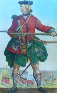 Soldier of the Black Watch c.1740