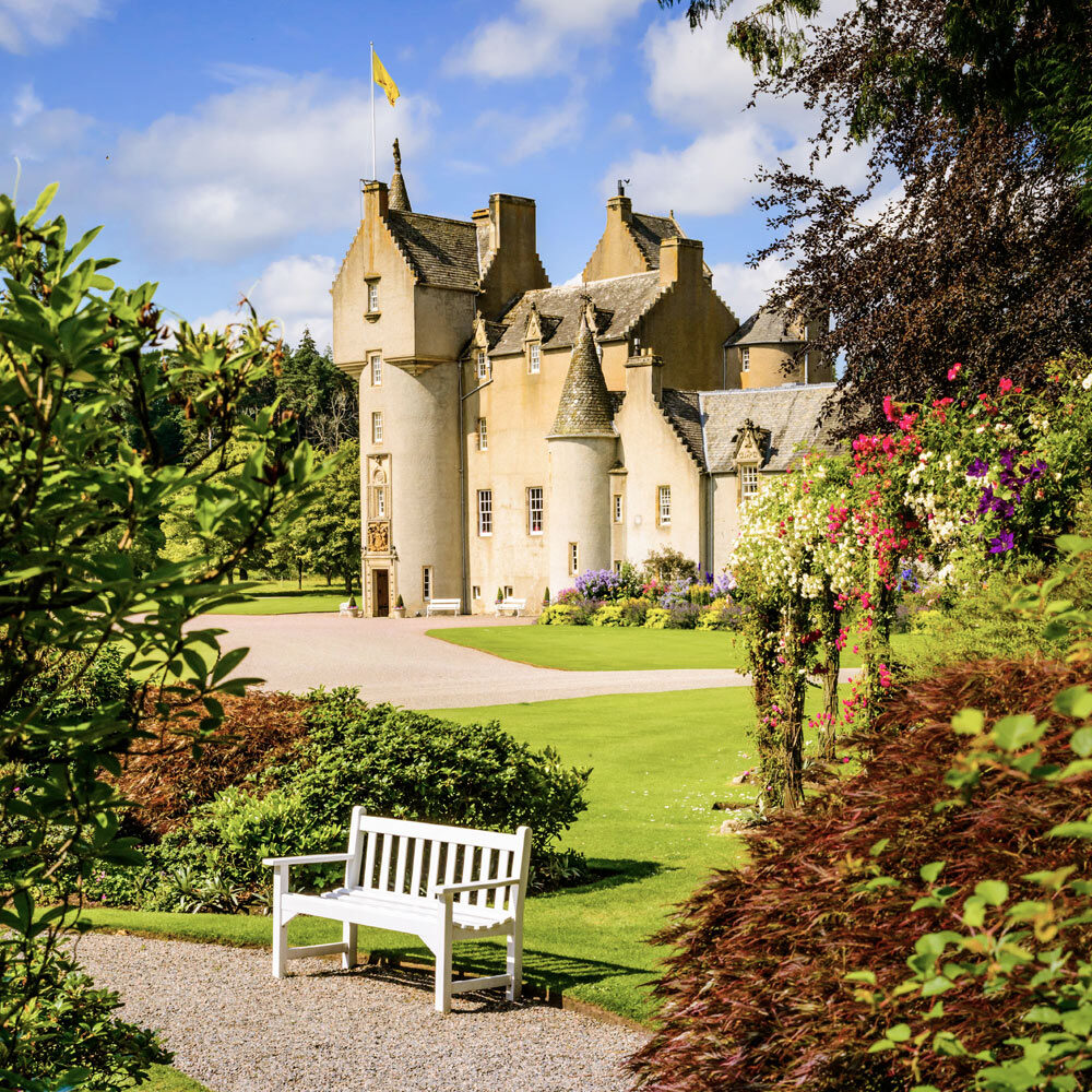 Ballindalloch Castle and Gardens. The Castle