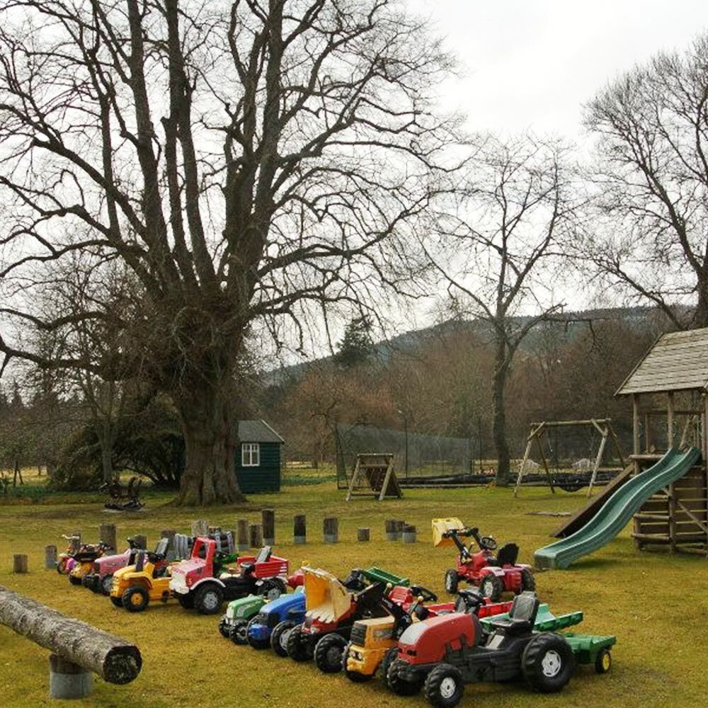 Ballindalloch Castle and Gardens. The Playpark